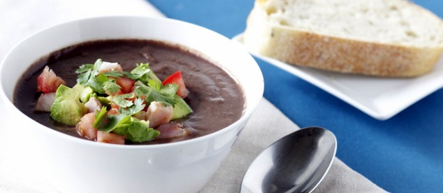 Black Bean Soup with Hatch Chile