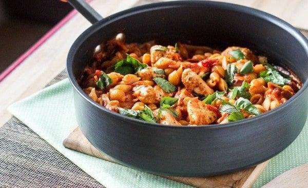 Italian Spiced Chicken Pasta