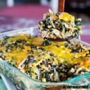 Mexican Chicken and Quinoa Casserole