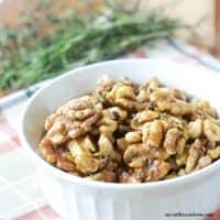 Herbed Walnuts