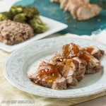 Pork Tenderloin with Spicy Peach Sauce