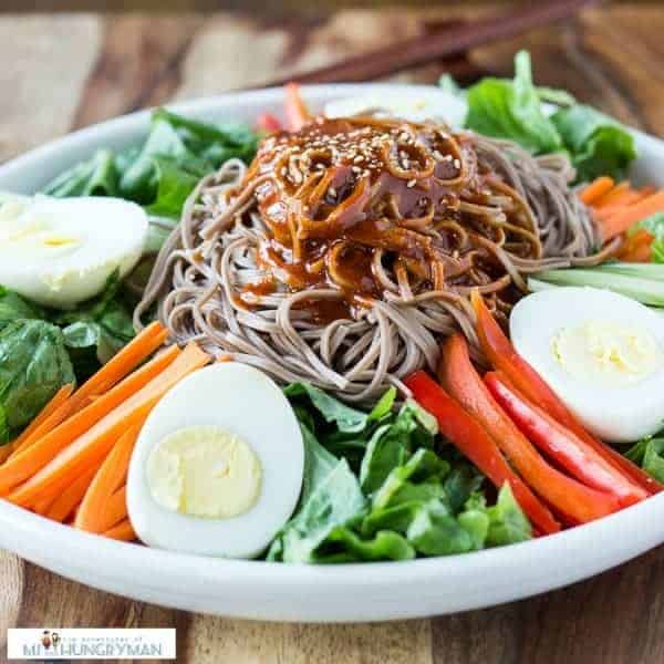 Spicy Soba Noodles With Shiitakes Recipe — Dishmaps
