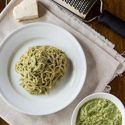 Zucchini Basil Pesto
