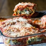 Vegetarian Lasagna Roll Ups