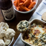 Hot Spinach and Kale Dip