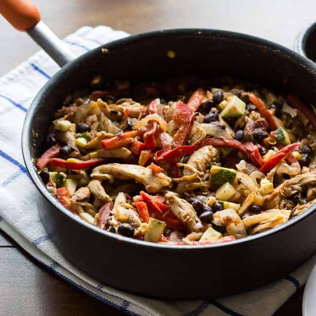 {Kraft Recipe Makers}Tex-Mex Chicken Fajitas