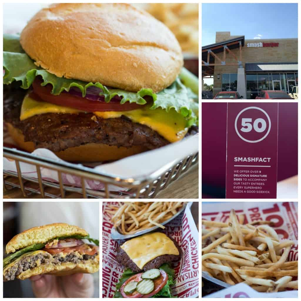Smashburger Collage