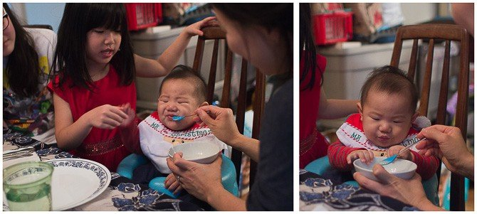 Baby's 1st solid food