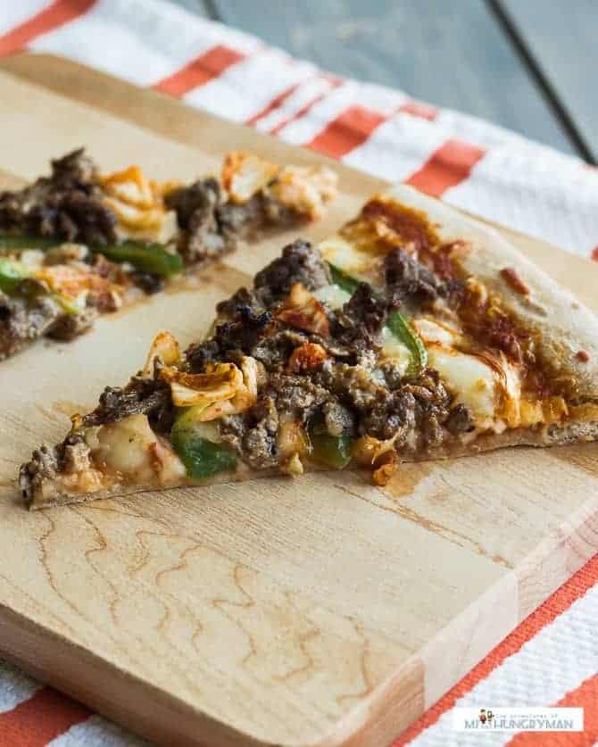 Bulgogi Kimchi Pizza