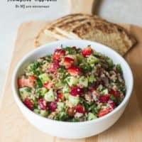 Strawberry Tabbouleh