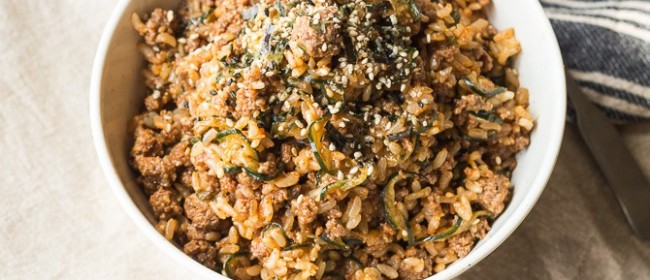 Spicy Korean Bulgogi Rice Bowl