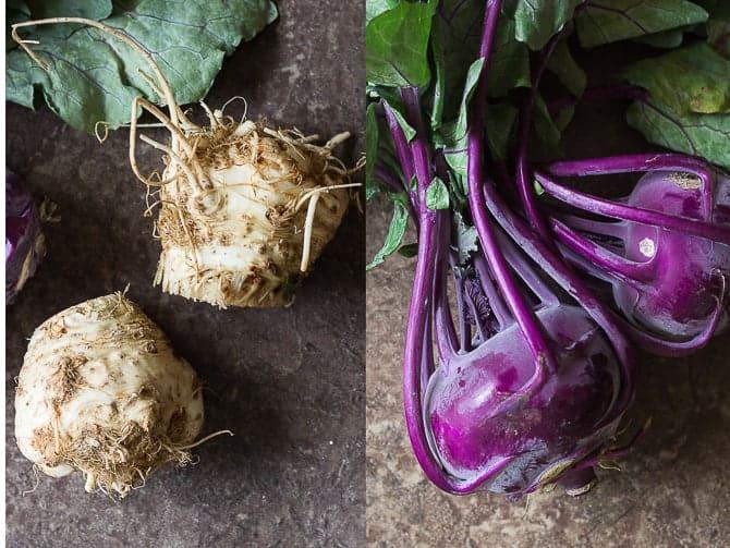 celeriac and kohlrabi rosti