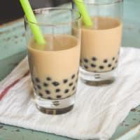 Chai Coconut Bubble Tea