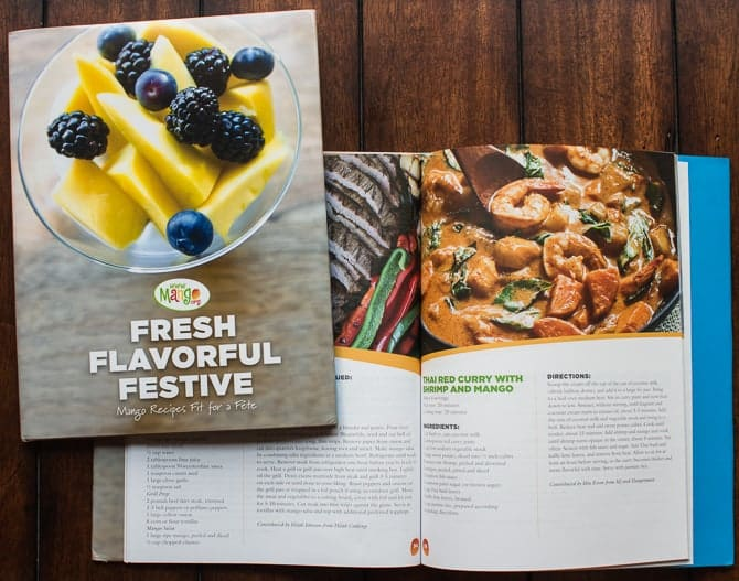 National Mango board Cookbook