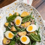 Green Bean and Potato Salad with Lemon Anchovy Dressing