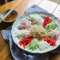 Korean Cold Jellyfish Salad – Haepari Naengchae