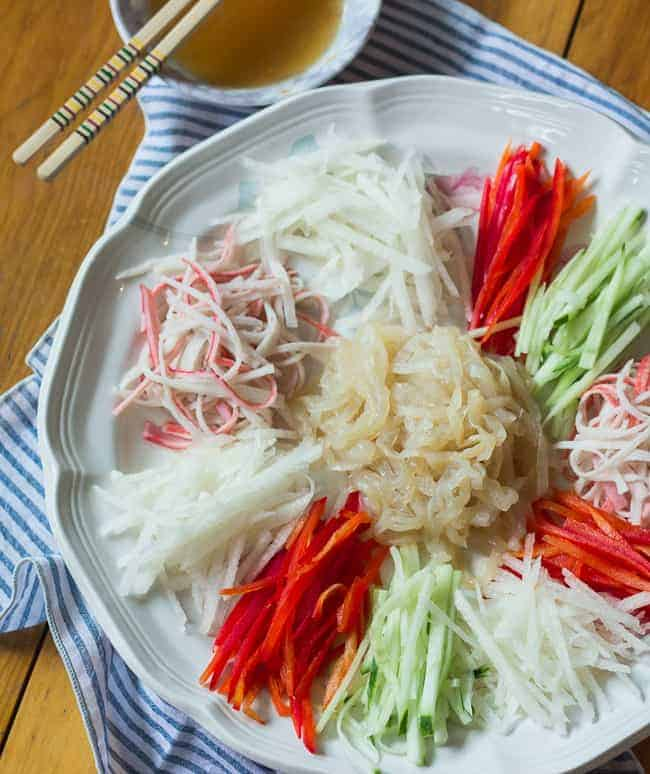 Korean Jellyfish Salad
