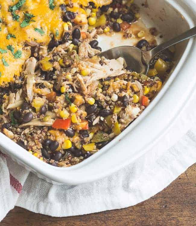 Hatch Chile Southwestern Quinoa Casserole-8861