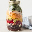 Southwestern Salad in Mason Jar {+a Giveaway}