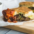 Southwestern Steak and Cheddar Panini