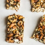 Spicy Cheerio Nut Bars