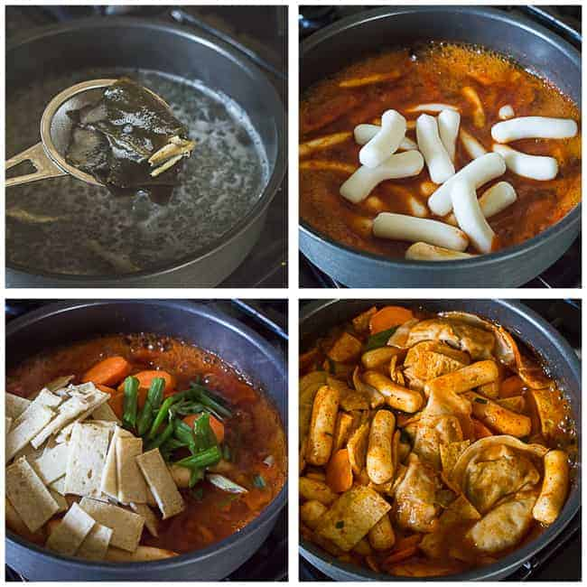 Tteokbokki - Korean Spicy Rice Cakes