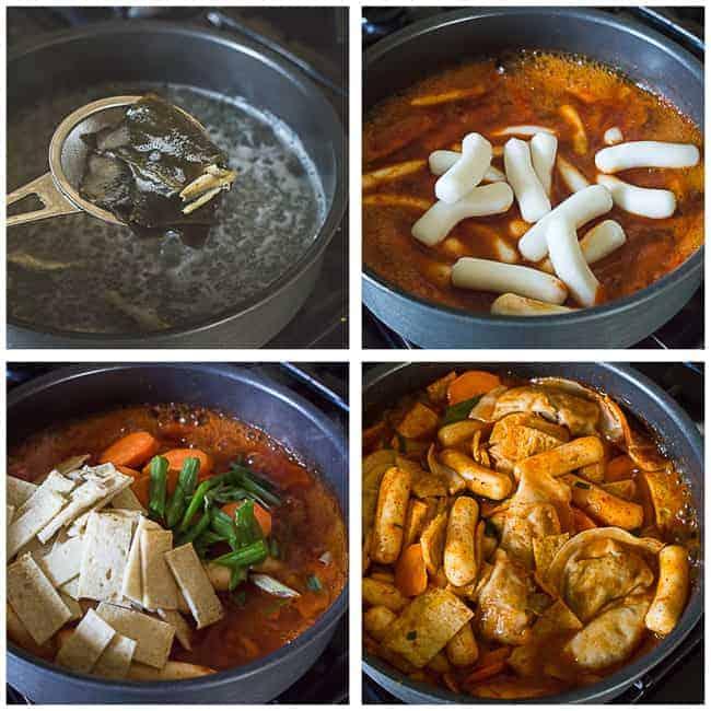 Tteokbokki - Korean Spicy Rice Cakes - MJ and Hungryman