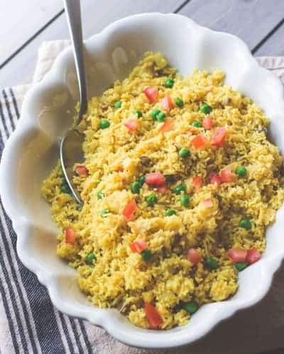 Indian Spiced Basmati Rice