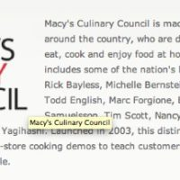 Macy's Culinary Council Event in Austin, TX