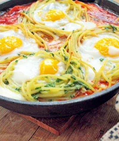 Spaghetti and eggs - diane boyd