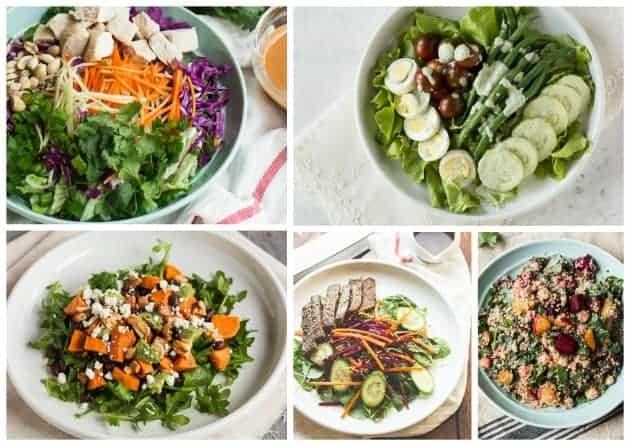 Healthy Salad Recipes MJ and Hungryman