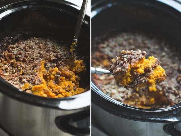 Slow Cooker Dairy-Free Sweet Potato Casserole