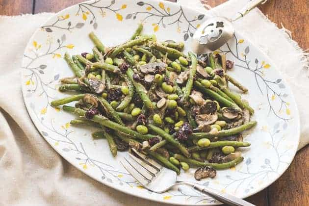 bean green beans with miso french green beans with walnut miso butter ...