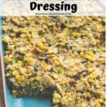 vegetarian cauliflower cornbread dressing