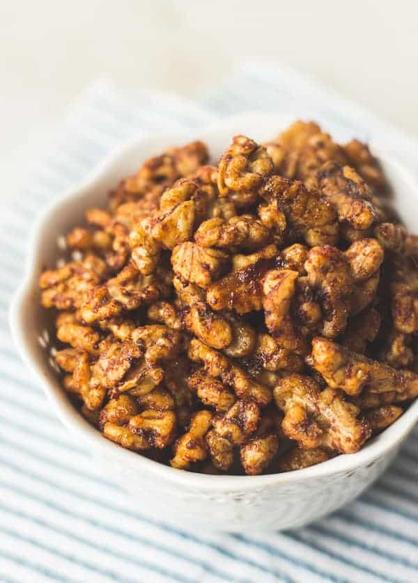 Spicy Korean-Style Toasted Walnuts