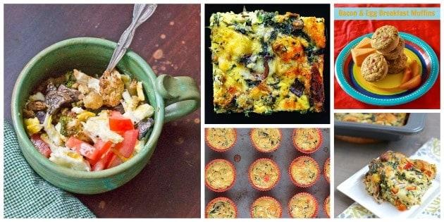 Make ahead breakfast egg recipes