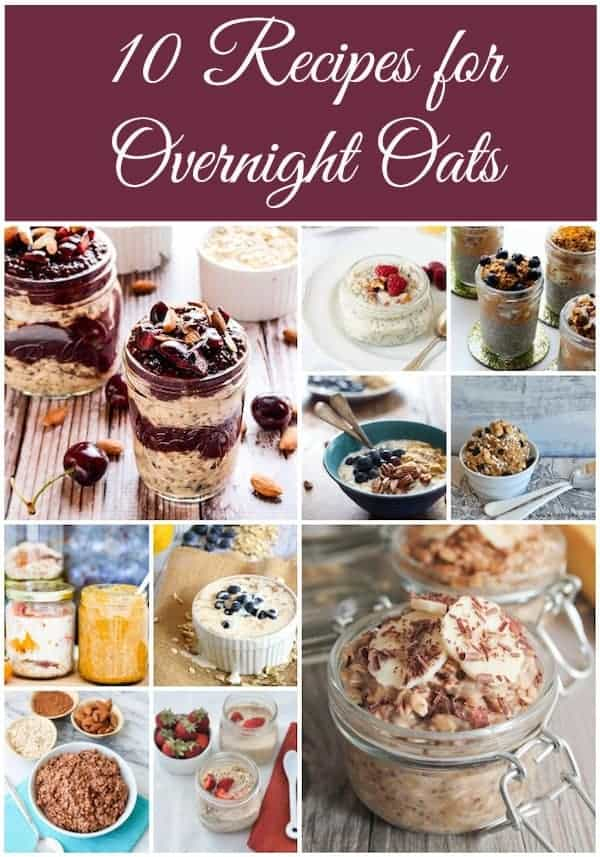 Healthy Aperture overnight oats
