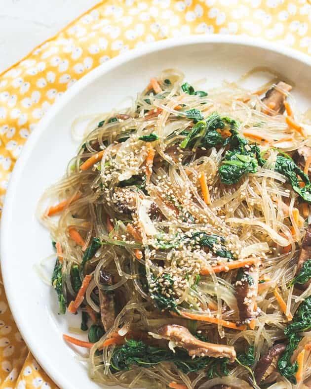 Vegetarian Japchae