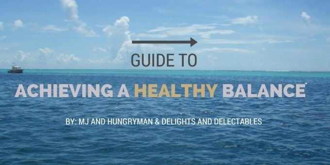 Guide to achieving a healthy balance