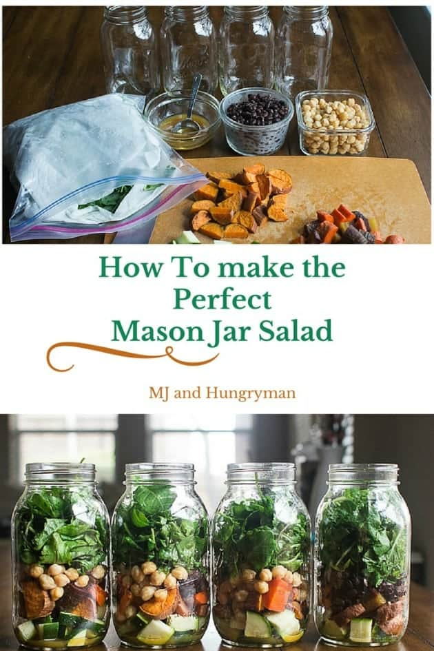 How to Make the Perfect Mason Jar Salad