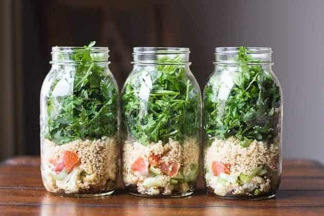 Meal Prep Friday - mason jar salad