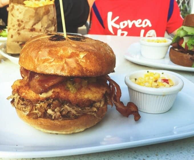 Carnitas' Snack Shack - Triple pork sandwich