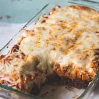 Vegetarian Sweet Potato Quinoa Lasagna // The Adventures of MJ and Hungryman