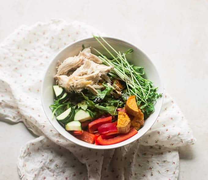 Meal Prep Friday - spring salad