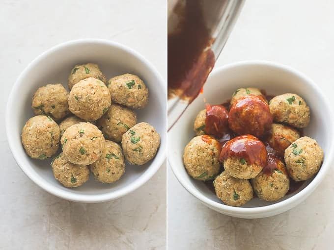 Spicy Asian Salmon Meatballs