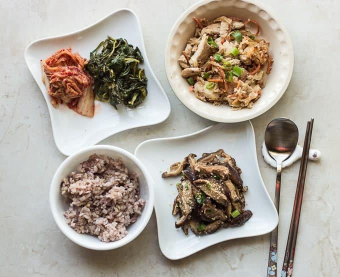 Korean meal - Meal Prep Friday