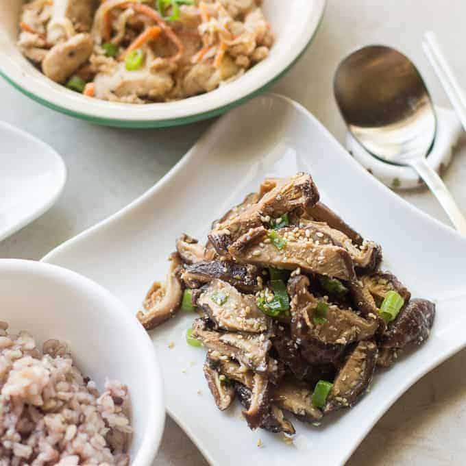 Korean Shitake Mushroom - Meal Prep Friday