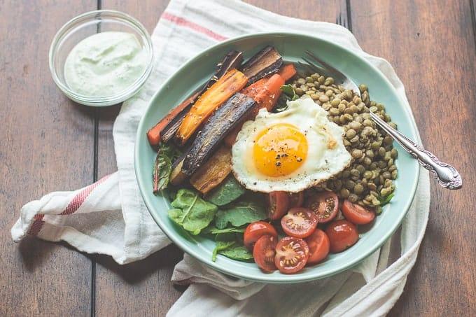 Cook Once, Eat Thrice - Greek Salmon Salad with Tzatziki Sauce