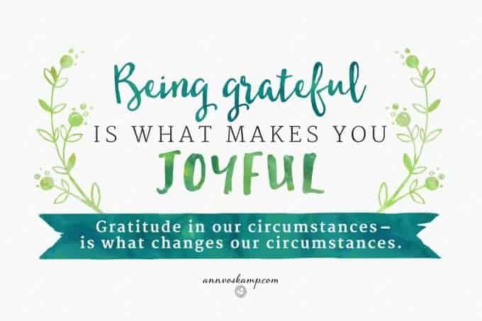 BeingGratefulIsWhatMakesYouJoyful