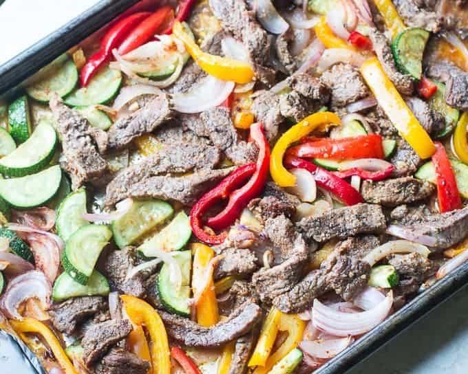 Steak Fajita Pasta-3